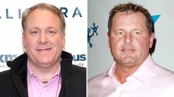 Curt Schilling and Roger Clemens