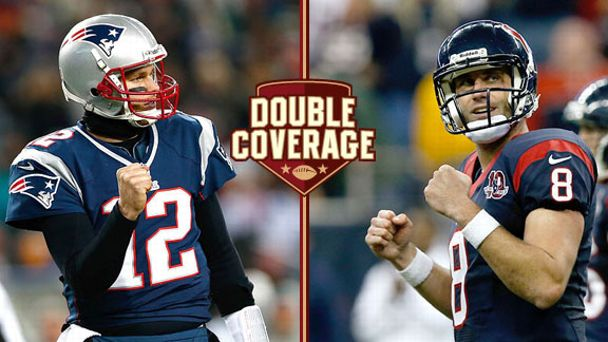 Tom Brady and Matt Schaub