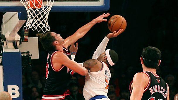 Joakim Noah, Carmelo Anthony