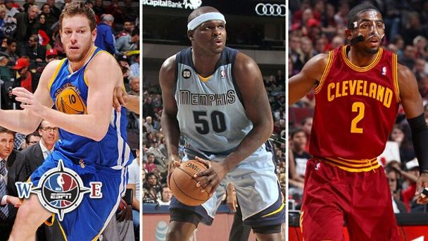 David Lee, Zach Randolph, Kyrie Irving
