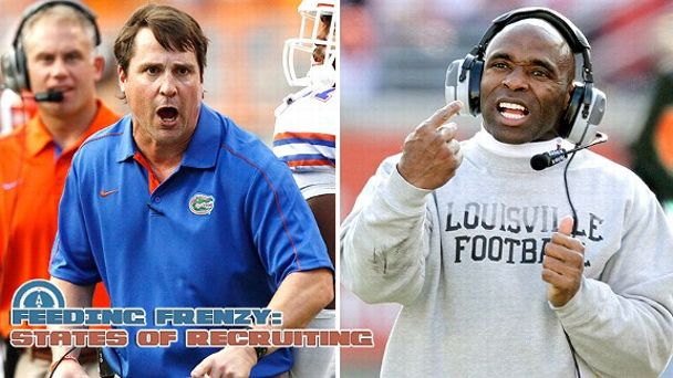 Will Muschamp, Charlie Strong