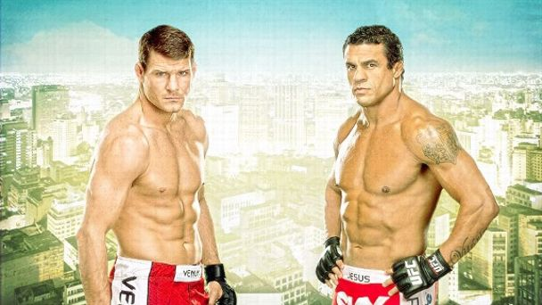 Michael Bisping and Vitor Belfort