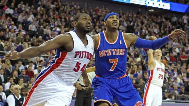 Carmelo Anthony, Jason Maxiell