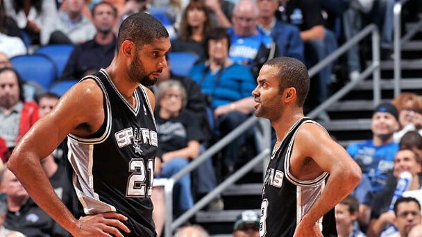 Tim Duncan and Tony Parker