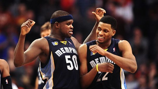Zach Randolph and Rudy Gay