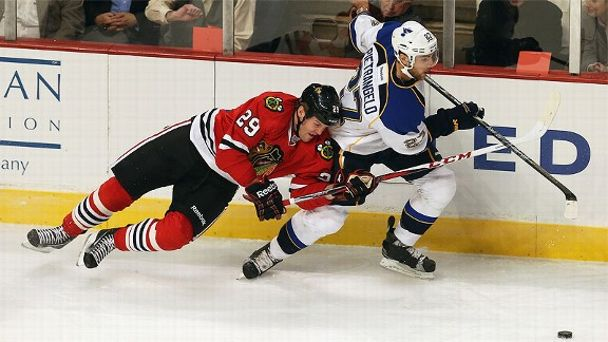 Bryan Bickell and Alex Pietrangelo