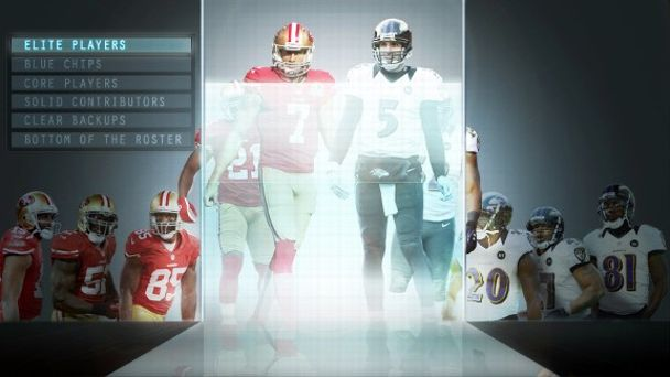 Super Bowl XLVII Rosters