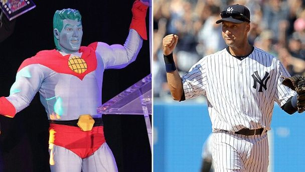 Captain Planet/Derek Jeter