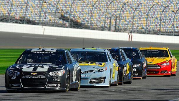 6 NASCAR Sprint Cup cars