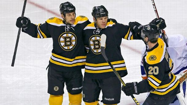 Shawn Thornton, Daniel Paille, Gregory Campbell
