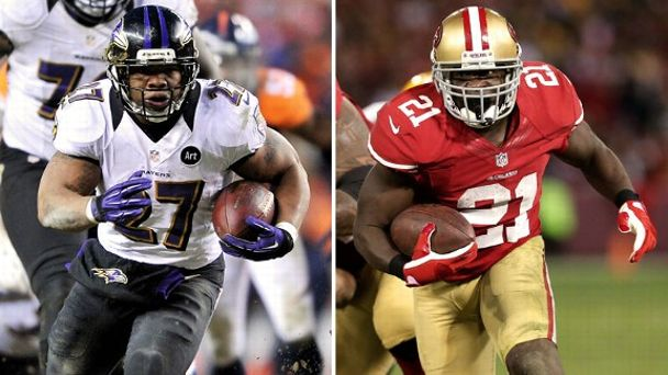 Ray Rice, Frank Gore