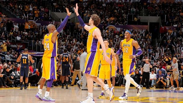 Kobe Bryant and Pau Gasol