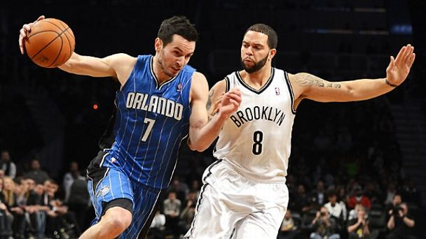 J.J. Redick and Deron Williams