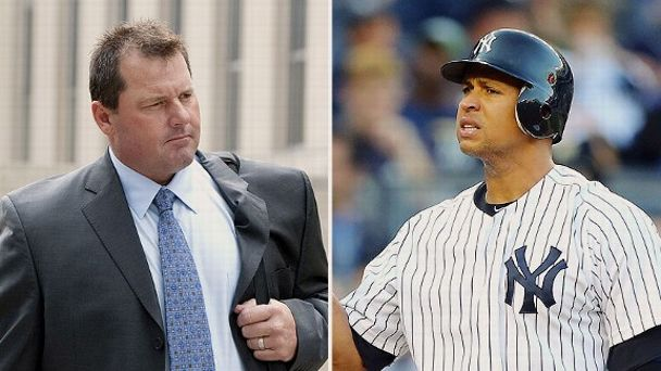 Roger Clemens and Alex Rodriguez