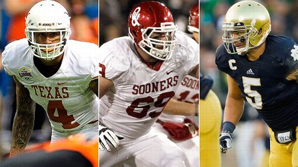 Kenny Vaccaro/Lane Johnson/Manti Te'o
