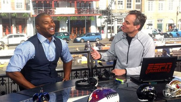 Osi Umenyiora and Colin Cowherd