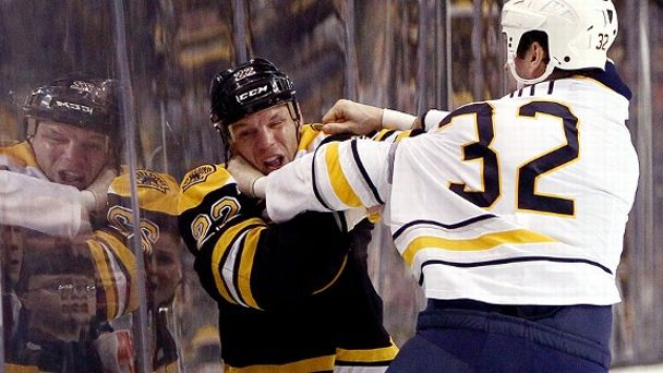 Shawn Thornton and John Scott