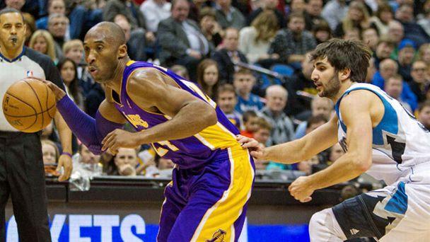 Kobe Bryant, Ricky Rubio