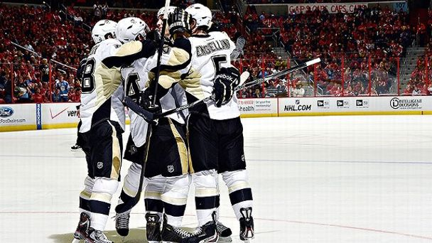 Penguins Celebrate