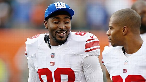 Hakeem Nicks and Victor Cruz