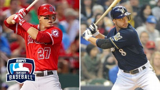 Mike Trout, Ryan Braun