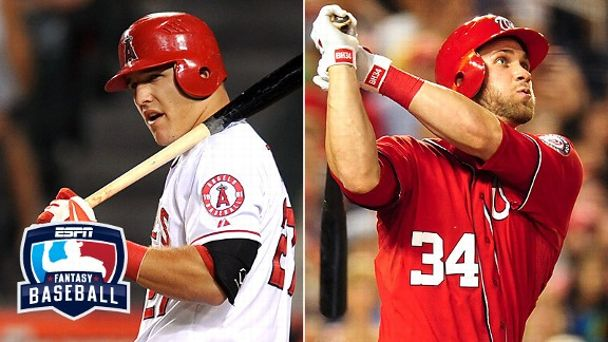 Mike Trout and Bryce Harper
