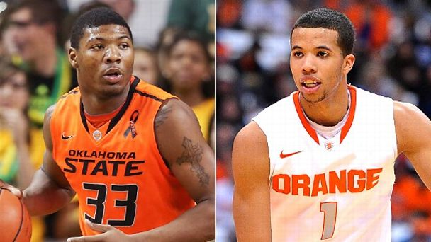 Marcus Smart and Michael Carter-Williams