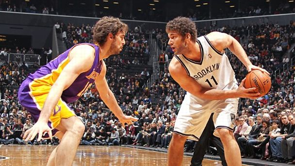Pau Gasol and Brook Lopez