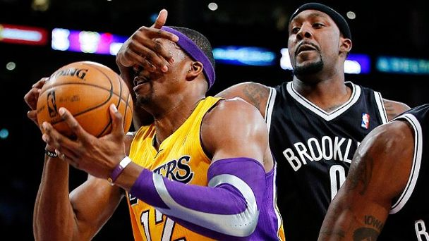 Dwight Howard and Andray Blatche
