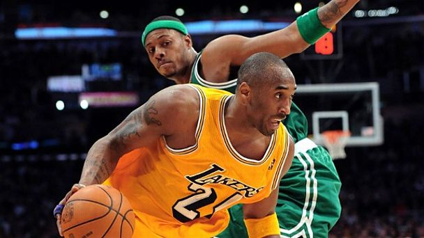 Kobe Bryant and Paul Pierce