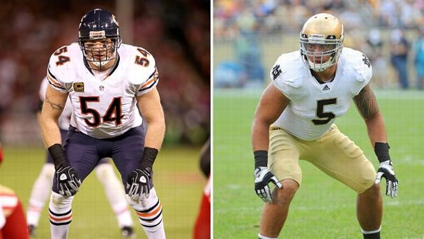 Brian Urlacher and Manti Te'o