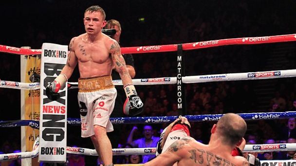 Carl Frampton and Kiko Martinez