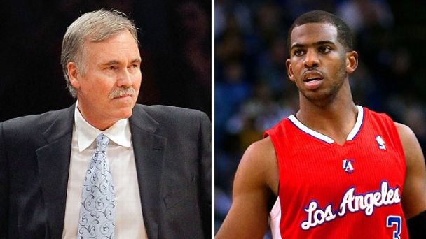 Mike D'Antoni and Chris Paul