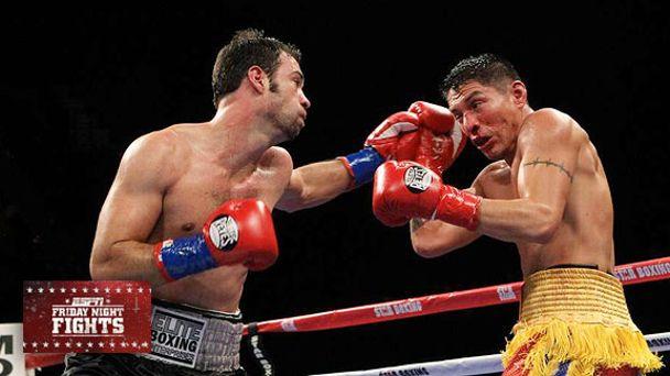 Delvin Rodriguez's 6th-round TKO of George Tahdooahnippah