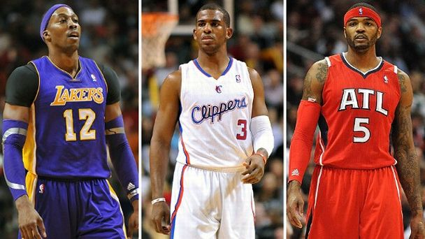 Dwight Howard, Chris Paul, and Josh Smith