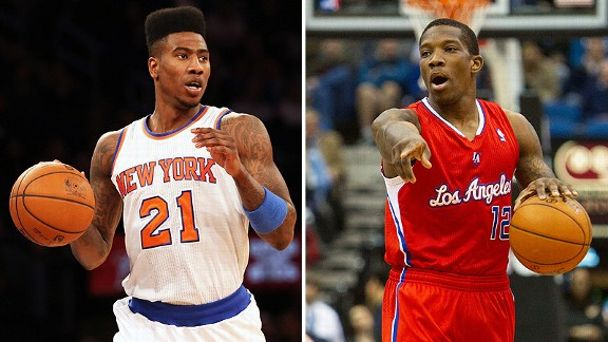 Iman Shumpert and Eric Bledsoe