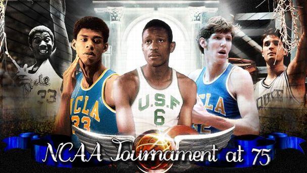 NCAA Tournament at 75 illustration