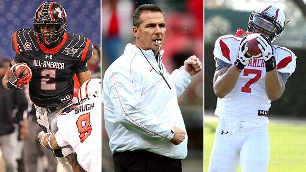 Dontre WIlson, Urban Meyer, Jalin Marshall