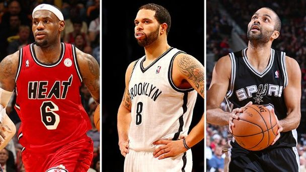 LeBron James, Deron Williams, Tony Parker
