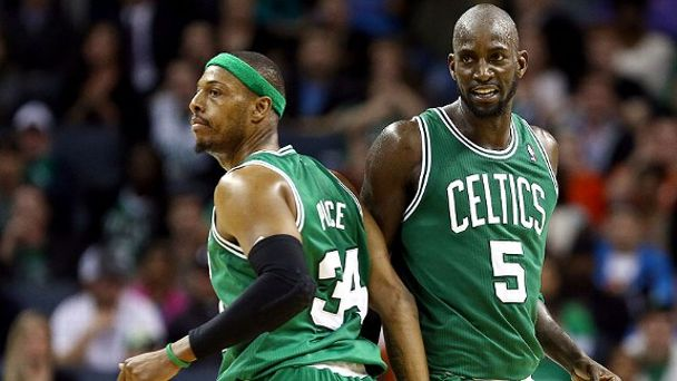 Paul Pierce, Kevin Garnett
