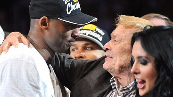 Kobe Bryant and Jerry Buss
