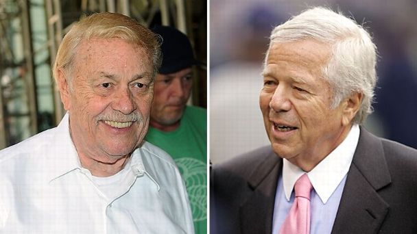 Jerry Buss, Robert Kraft