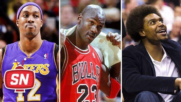 Dwight Howard, Michael Jordan, Andrew Bynum