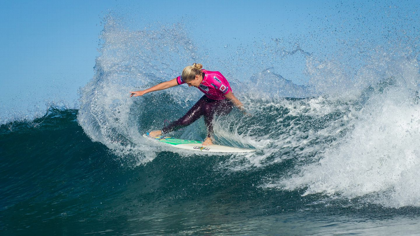 Sally Fitzgibbons And Stephanie Gilmore