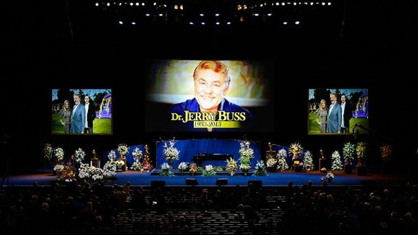 Jerry Buss memorial service