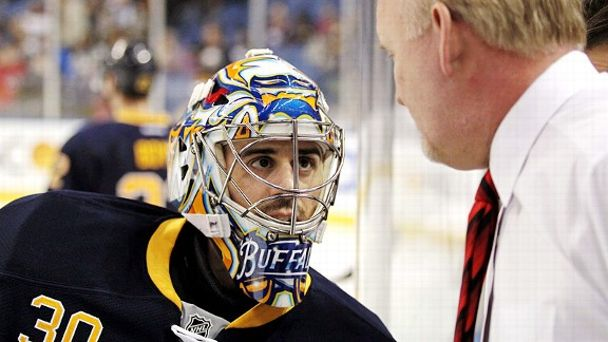 Ryan Miller and Lindy Ruff