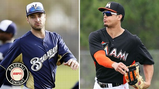 Ryan Braun and Giancarlo Stanton