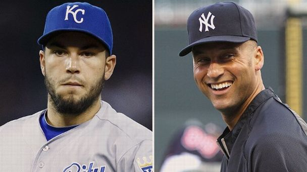 Eric Hosmer and Derek Jeter