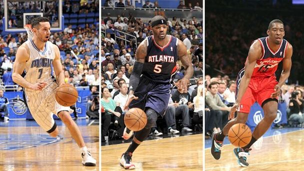 J.J. Redick, Josh Smith, Jordan Crawford