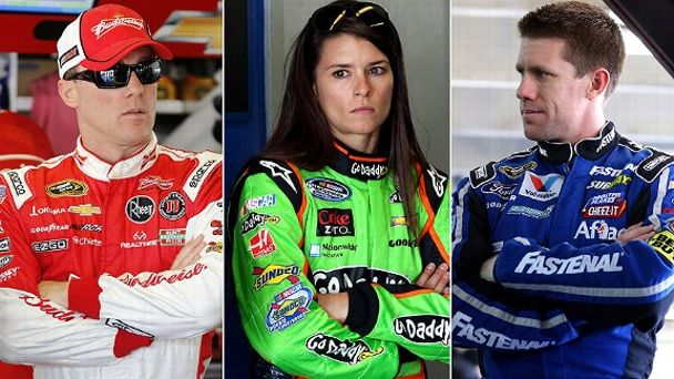 Kevin Harvick/Danica Patrick/Carl Edwards